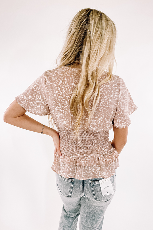 Preston Blush Top