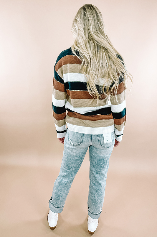 Retro Striped Sweater