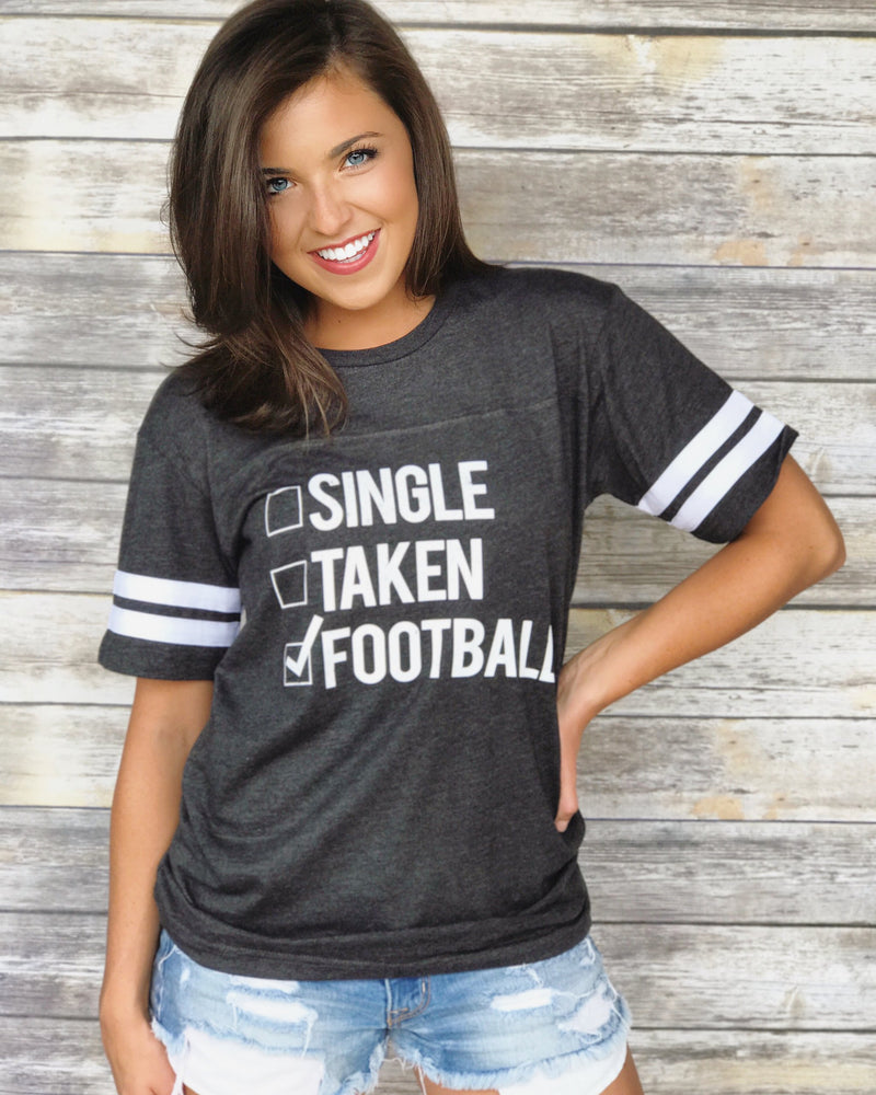 Single, Taken, Football
