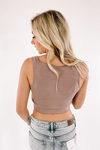 Sydney Ribbed Crop Top