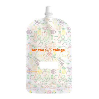 Sinchies Re-usable Food Pouches 200ml - Fruit & Vegetable