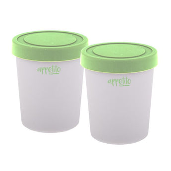 Mini Ice Cream Tub Set (200ml) Green