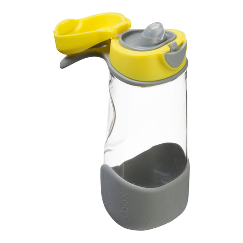 B.box Sports Spout Drink Bottle - Lemon Sherbet