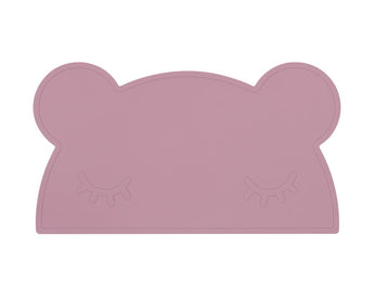 Bear Placie - Dusty Rose