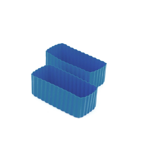 Bento Cup Rectangle - Medium Blue