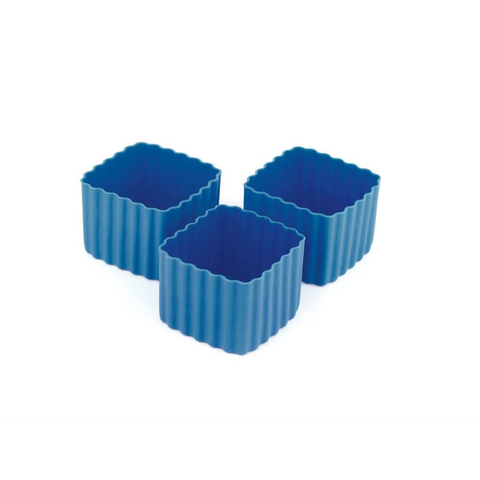 Bento Cup Square - Medium Blue