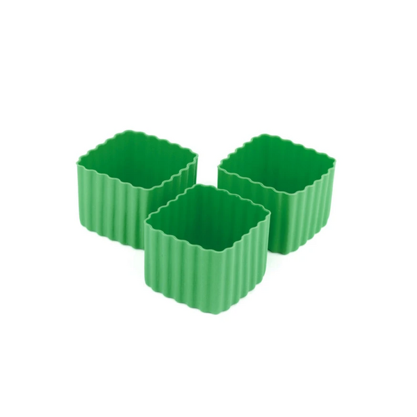 Bento Cup Square - Medium Green