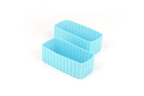 Bento Cup Rectangle - Light Blue