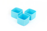 Bento Cup Square - Light Blue