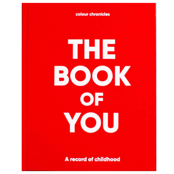 The Book of You: A Record of Childhood (RED)