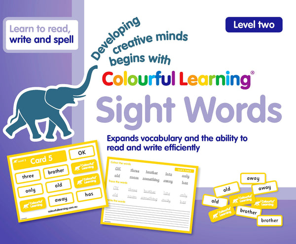 Sight Words (Level Two)