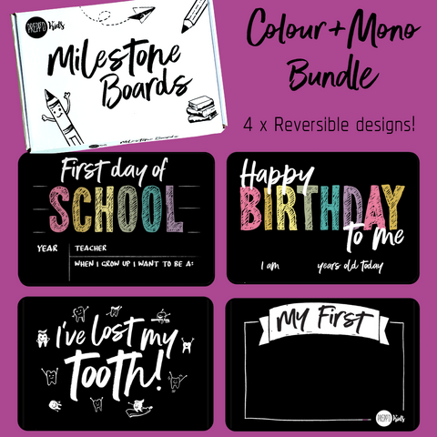 Colour+Mono Bundle Pack (4 pieces)