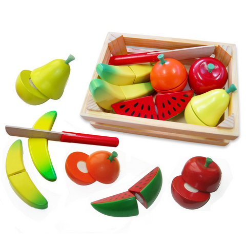 Fruit Crate w/Knife