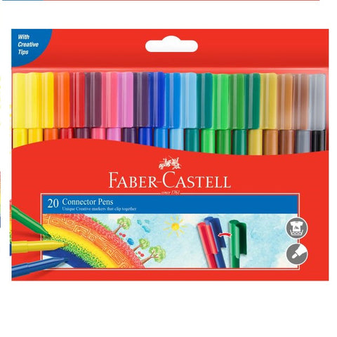 Marker Faber-Castell Connector Pens (20)