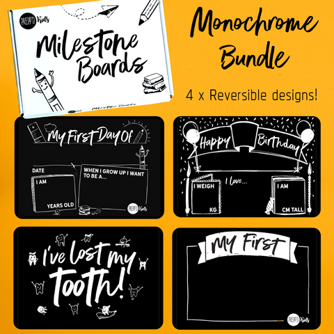 Monochrome Bundle Pack (4 pieces)