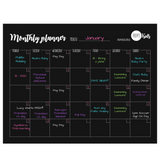 Monthly Planner (next shipment due Jan 2020)