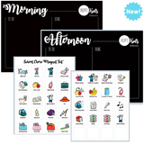 Morning & Afternoon School Routine (A4)