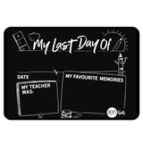 My First Day Of School (Monochrome)
