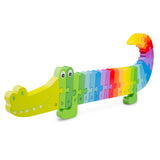 Rainbow Crocodile Puzzle