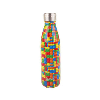 Oasis Insulated Drink Bottle 500ml - Bricks