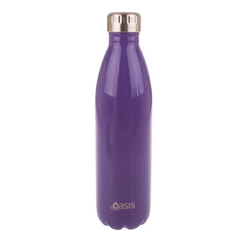 Oasis Insulated Drink Bottle 500ml - Ultraviolet (Purple)