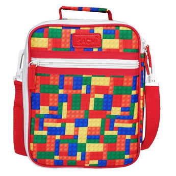 Sachi Insulated Lunch Bag - Bricks
