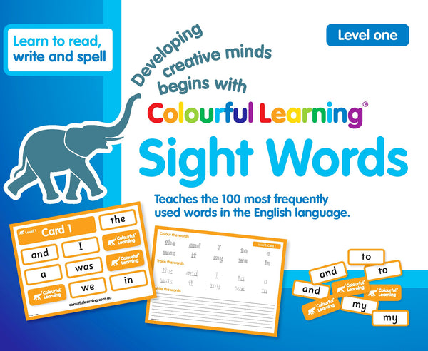Sight Words (Level One) - SOLD OUT / PRE-ORDER NOW