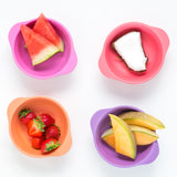 Bobo & Boo Bamboo Snack Bowl Set - Sunset