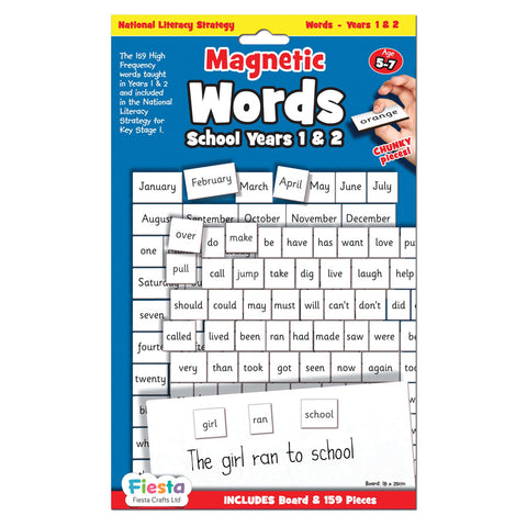 Magnetic Words - School Years 1 & 2