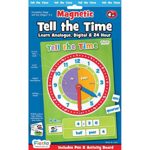 Magnetic Tell the Time