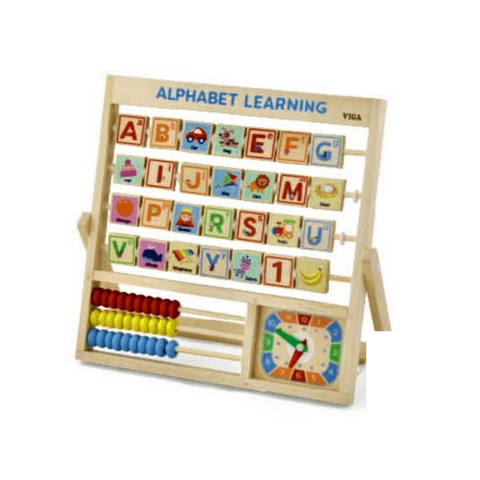 Learning Alphabet & Clock