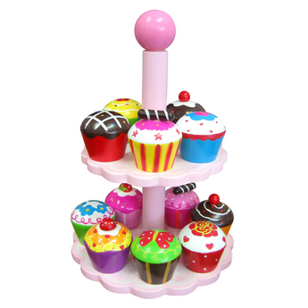 Cupcakes W/Stand