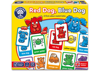 Red Dog Blue Dog Lotto Game