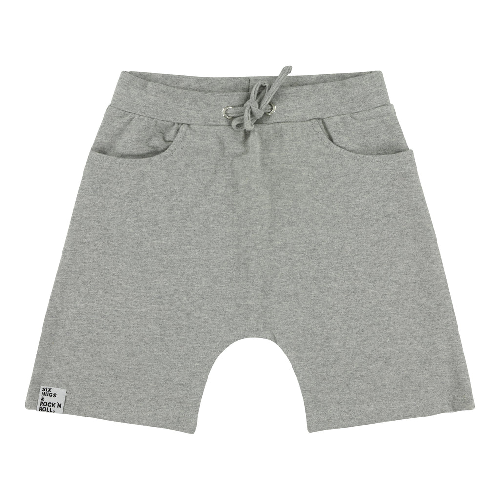 Six Hugs baggy shorts grey