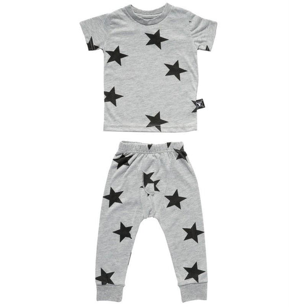Nununu Grey Star PJ's