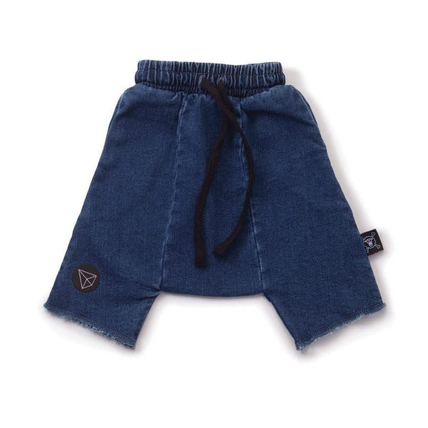 Nununu Denim Harem Shorts