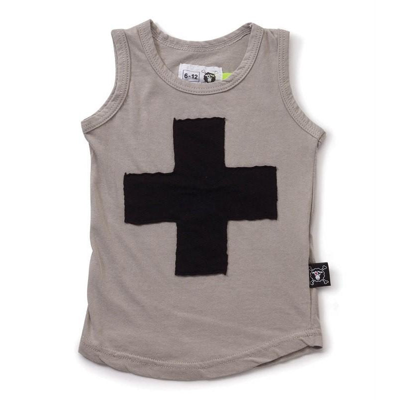 Nununu Light Grey Plus Tank