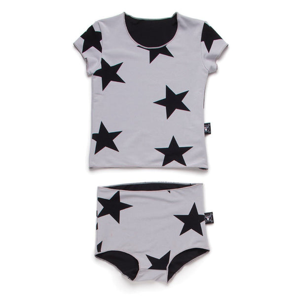 Nununu Star shirtini swimwear