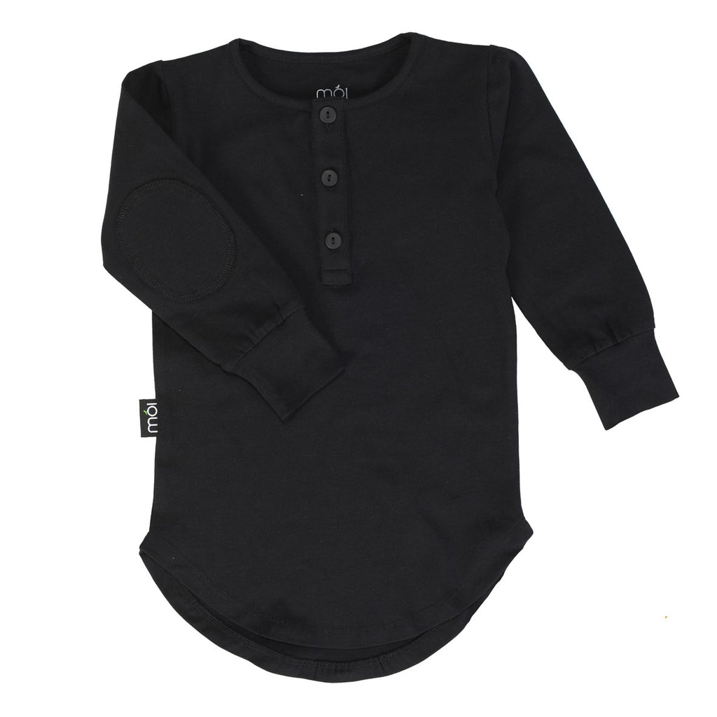 Black Moi Long Shirt