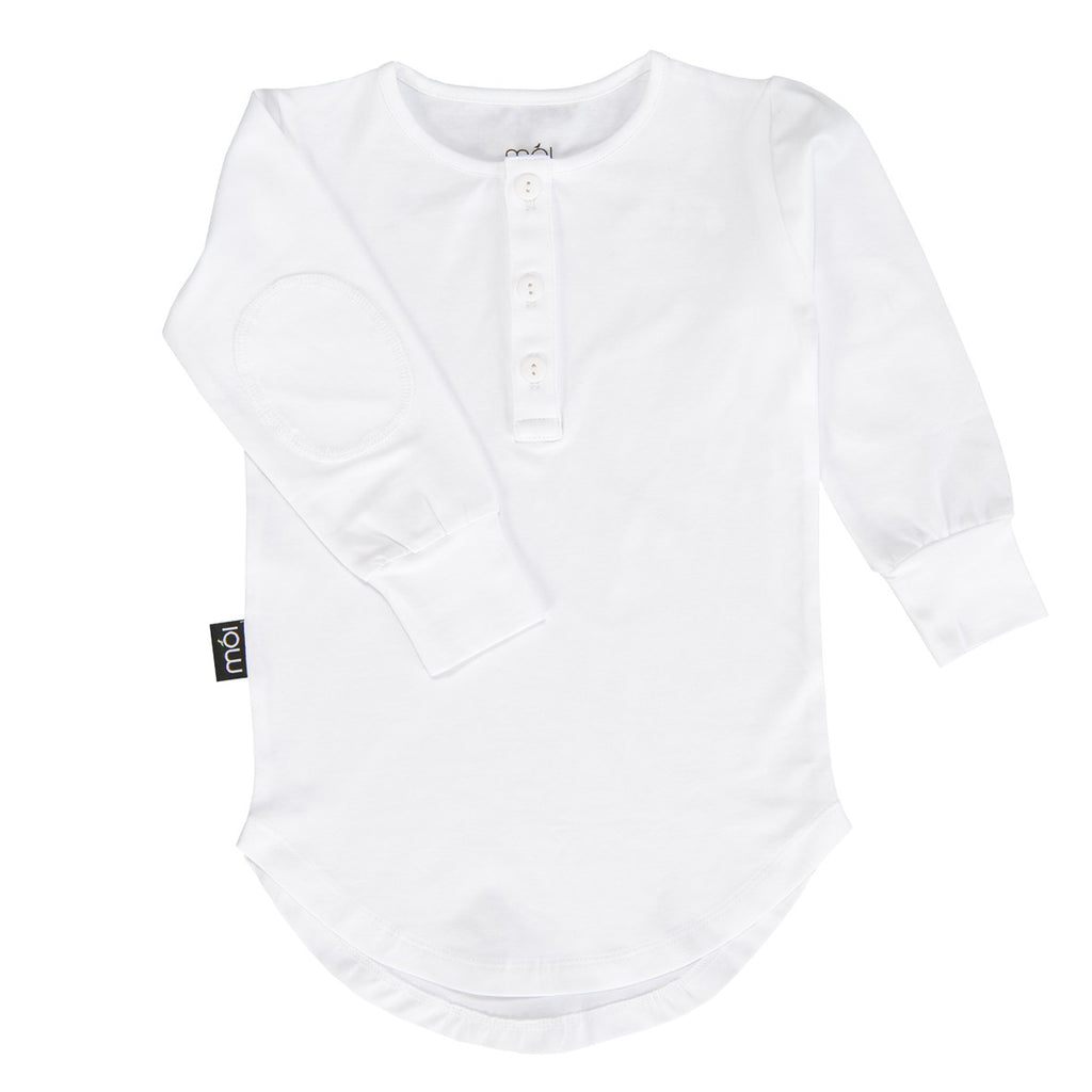 White Moi Long Shirt