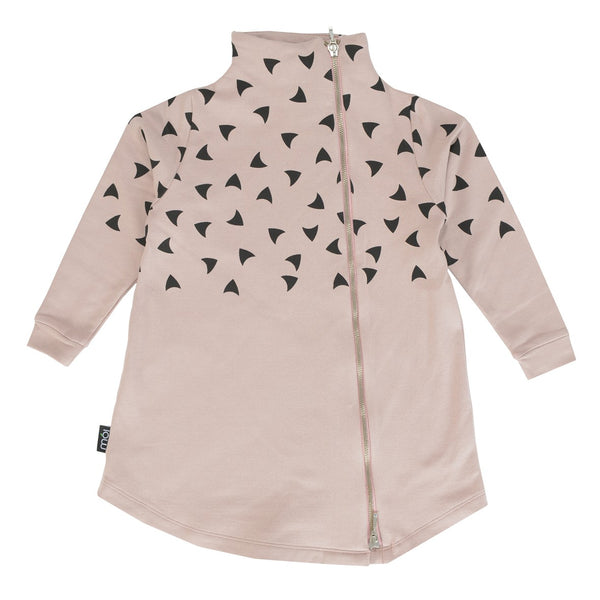 Moi Blush Beak Long Jacket