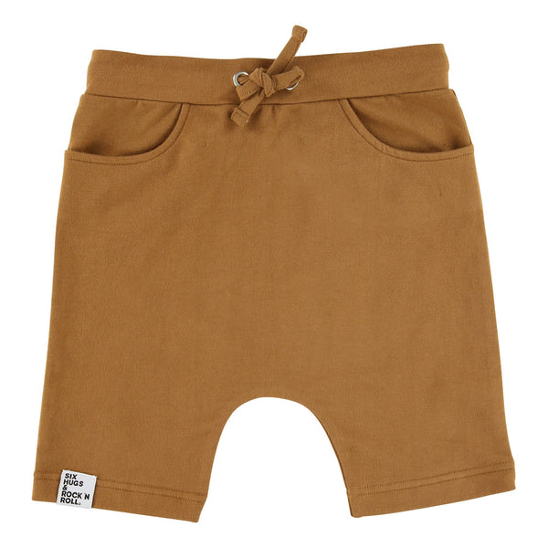 Six Hugs Baggy Brown Shorts