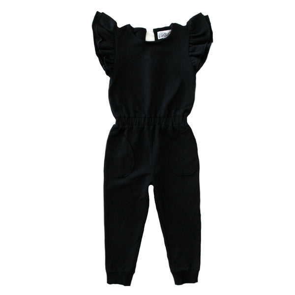 Duke of London - Black Rhi Rhi Romper