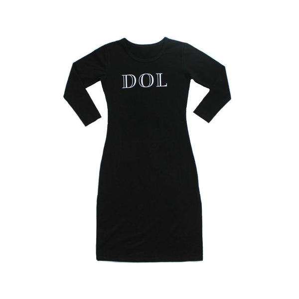 Basic Black DOL Tube Dress