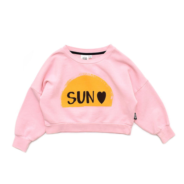 Little Man Happy SUNRISE Cropped Sweater