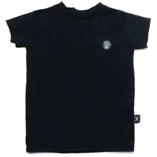 Black Nununu solid t-shirt