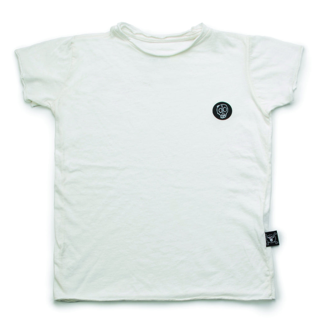 White Nununu solid t-shirt