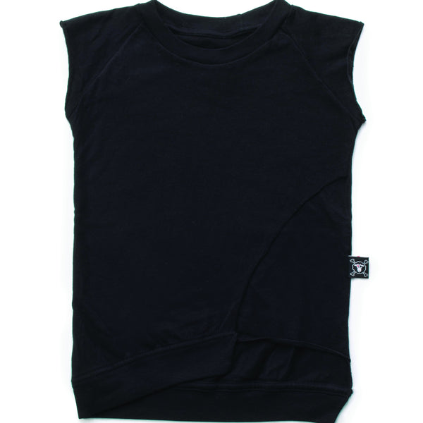 Nununu layered sleeveless shirt