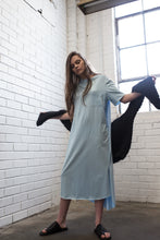 The Rib Neck S/S Oversized Tee Dress