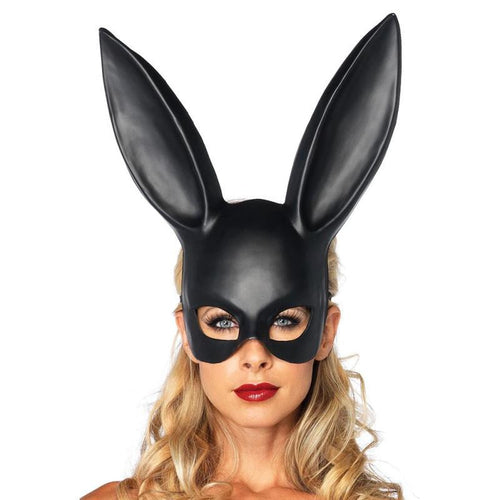 Black Bunny Ears Mask